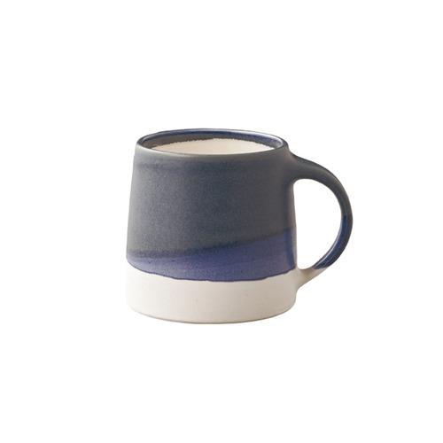 KINTO|SCS漸層馬克杯320ml白/藍色