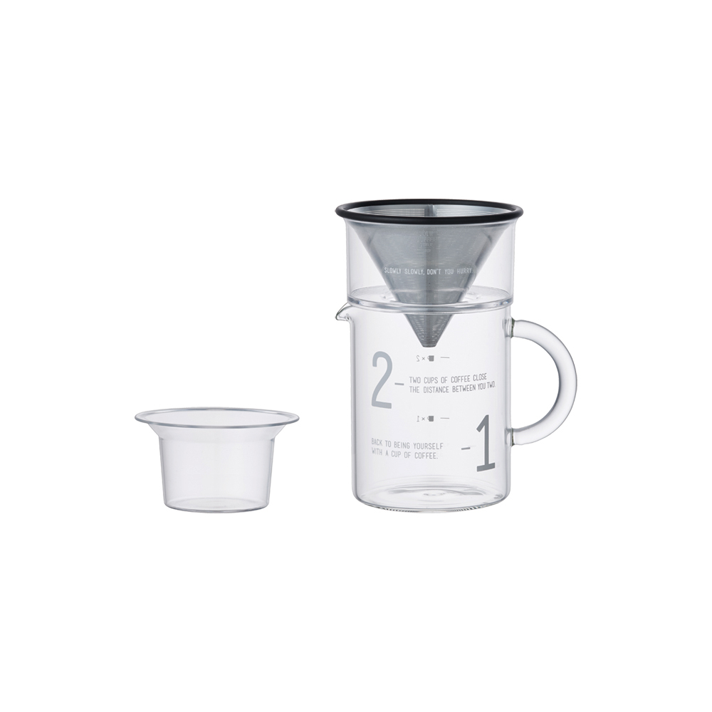 KINTO|SCS簡約咖啡沖泡壺組300ml