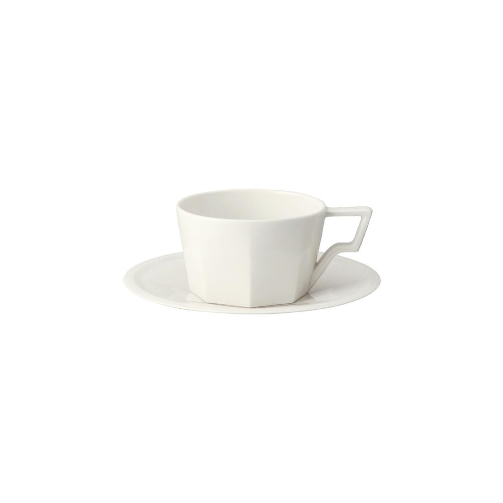 KINTO|OCT八角陶瓷杯盤組220ml