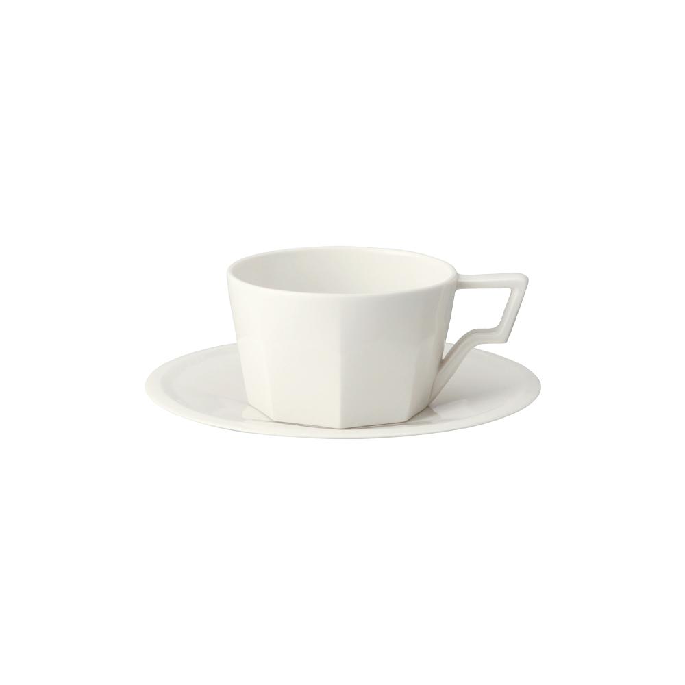 KINTO|OCT八角陶瓷杯盤組300ml