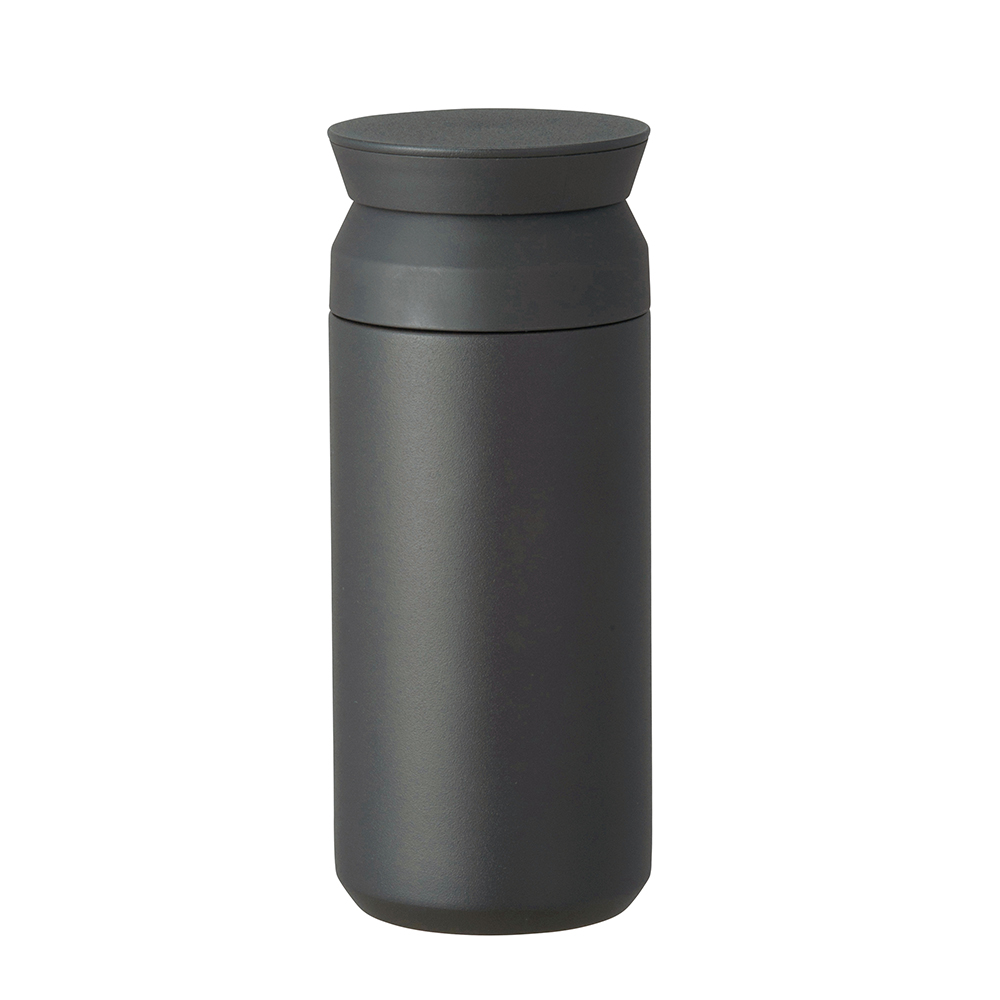KINTO TRAVEL TUMBLER隨行保溫瓶350ml-黑