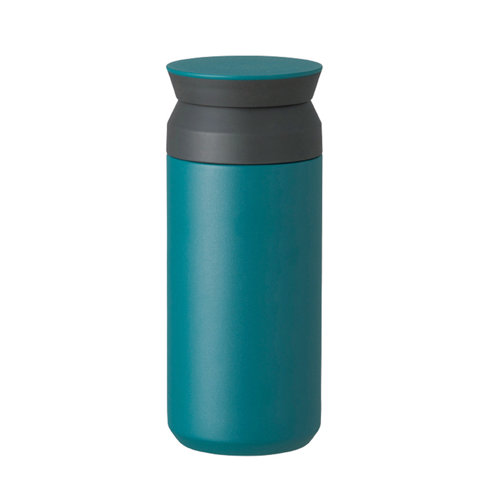 KINTO|TRAVEL TUMBLER隨行保溫瓶350ml-藍綠