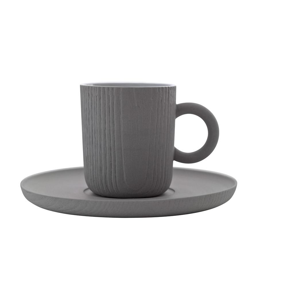 TOAST | MU 濃縮咖啡杯盤組 - 灰色