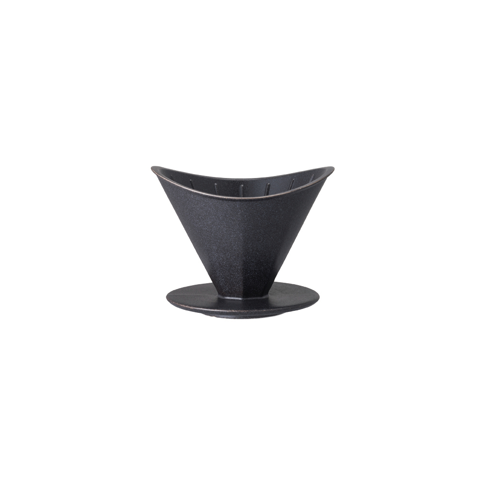 KINTO OCT八角陶瓷濾杯-2杯量 - 黑