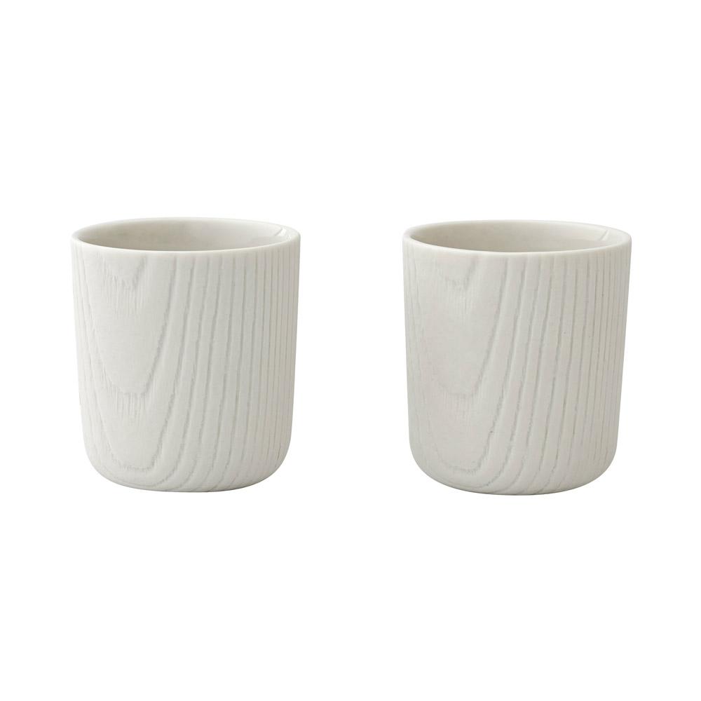 TOAST | MU mini 咖啡杯組 80ml - 白(一組 2 入)