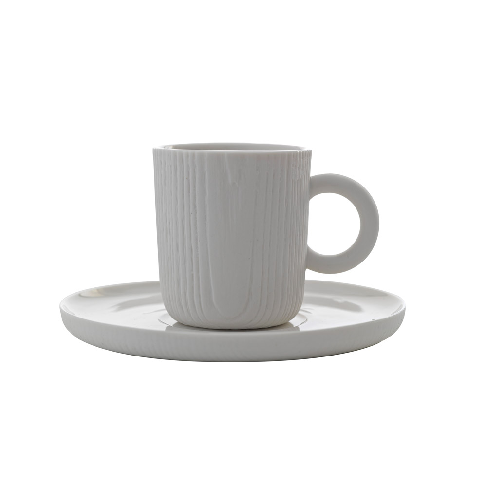 TOAST | MU 濃縮咖啡杯盤組 - 白色