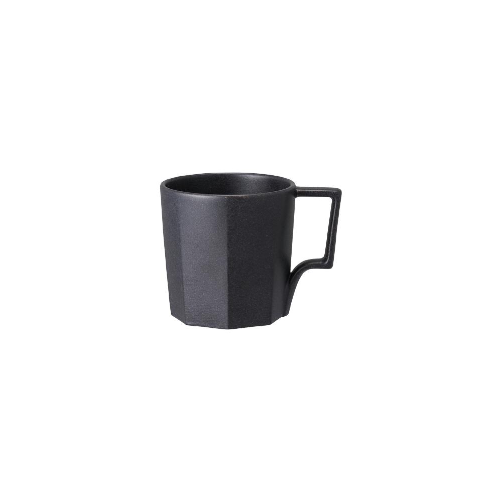 KINTO|OCT八角陶瓷馬克杯 300ml - 黑