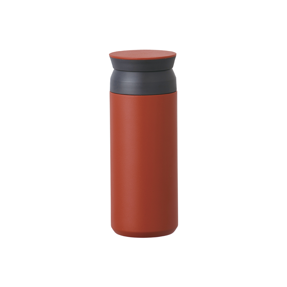 KINTO TRAVEL TUMBLER 隨行保溫瓶 500ml - 紅色