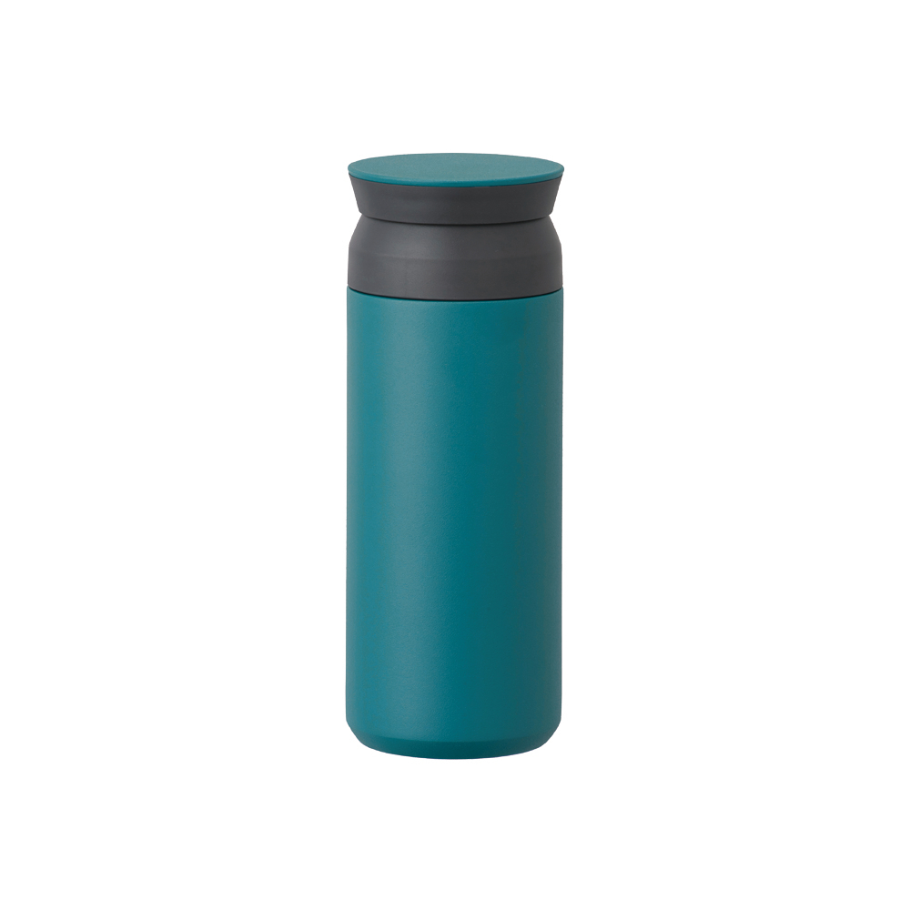 KINTO|TRAVEL TUMBLER 隨行保溫瓶 500ml - 藍綠色