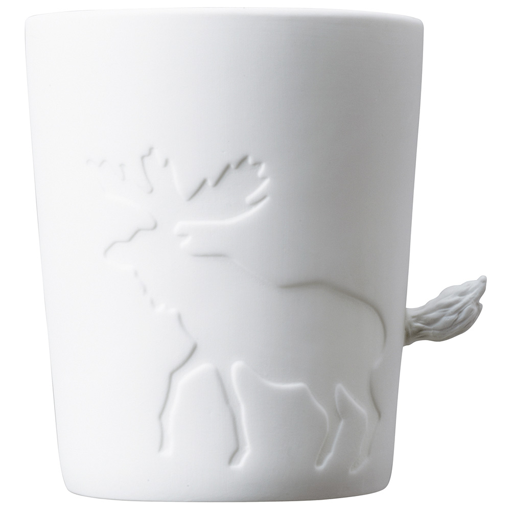 KINTO | Mugtail 童話動物杯 - 麋鹿 - 530ml