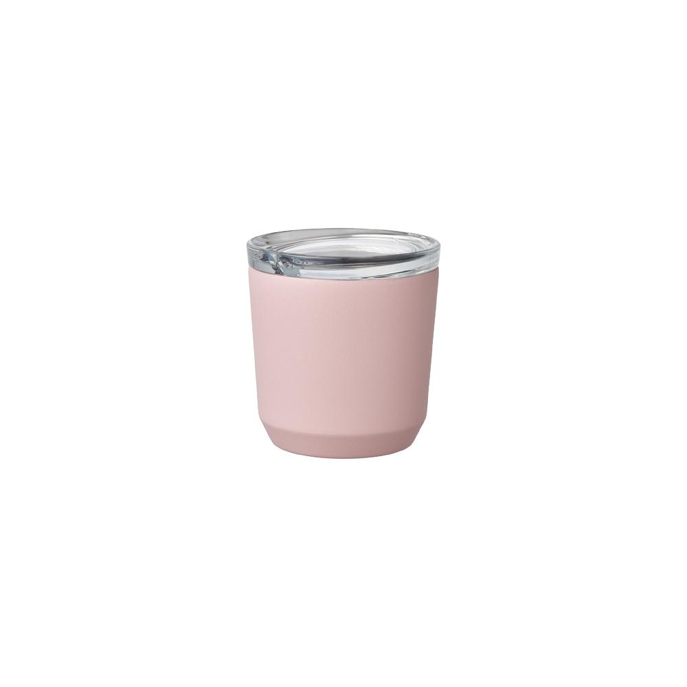 Kinto | TO GO TUMBLER 隨行保溫杯 240ml 粉紅色