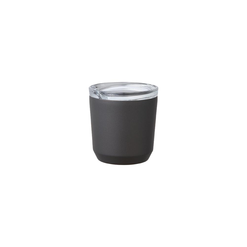 Kinto | TO GO TUMBLER 隨行保溫杯 240ml 黑色