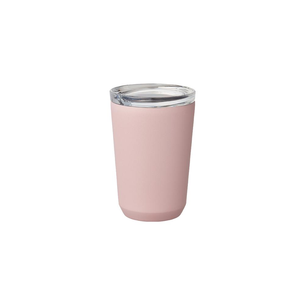 Kinto | TO GO TUMBLER 隨行保溫杯 360ml 粉紅色