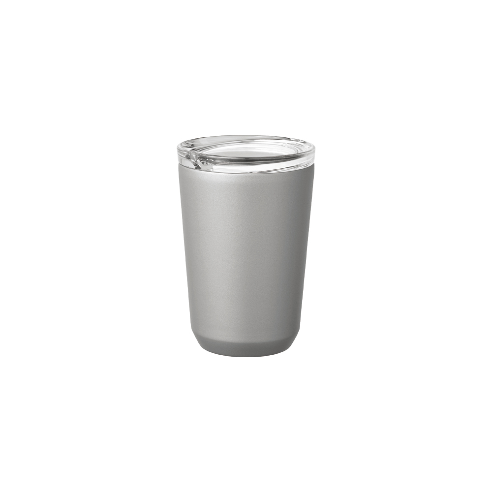 Kinto | TO GO TUMBLER 隨行保溫杯 360ml 銀色