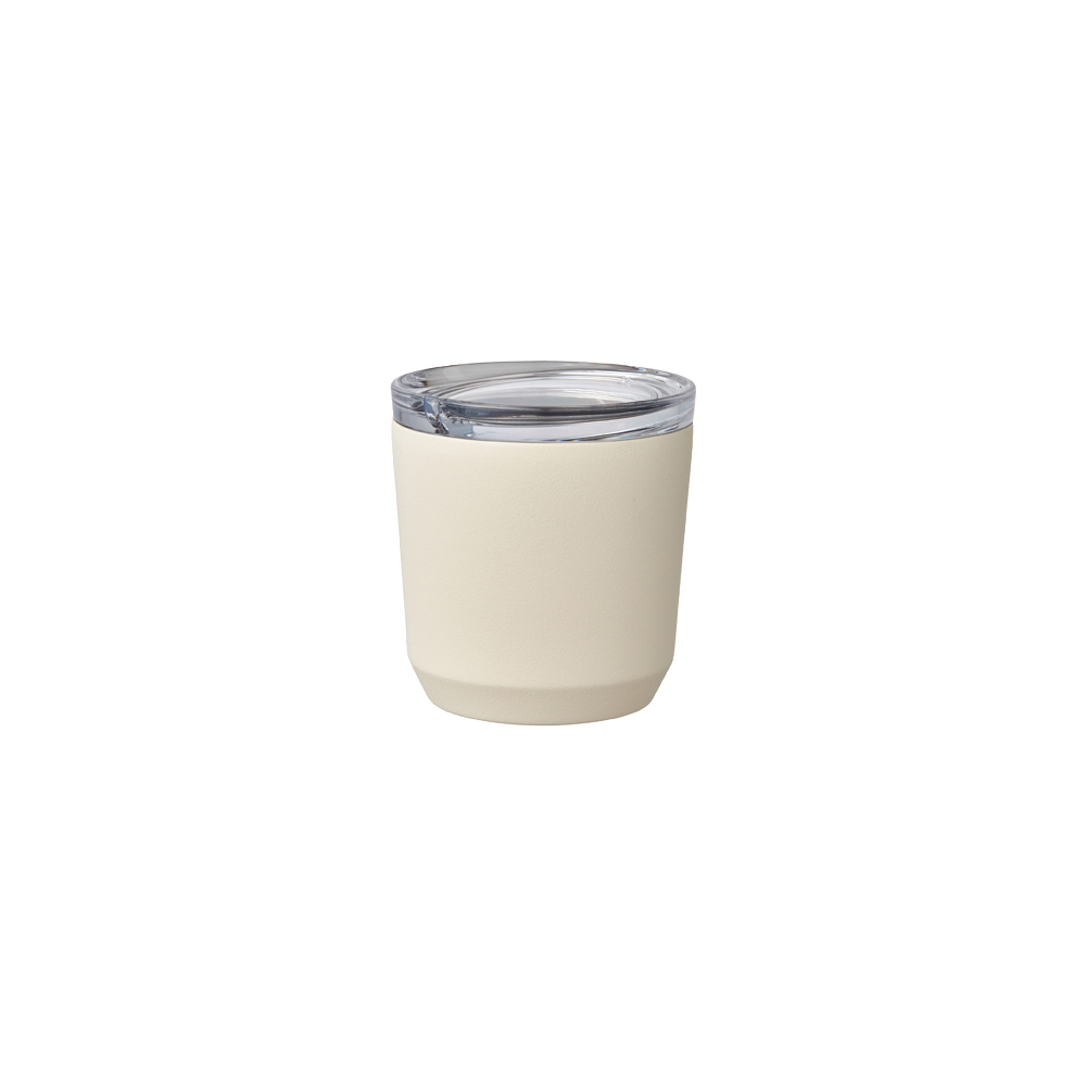 Kinto | TO GO TUMBLER 隨行保溫杯 240ml 米白色