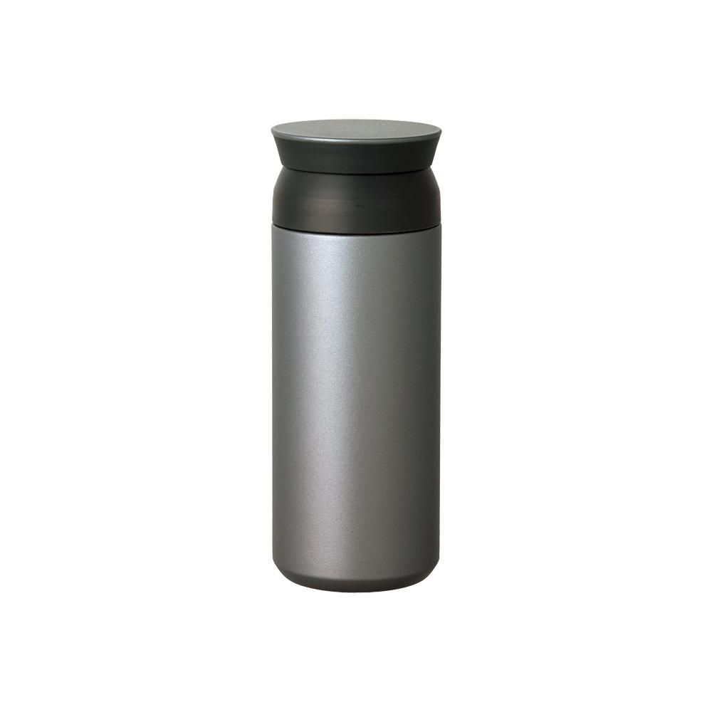 KINTO|TRAVEL TUMBLER 隨行保溫瓶 500ml - 銀灰色