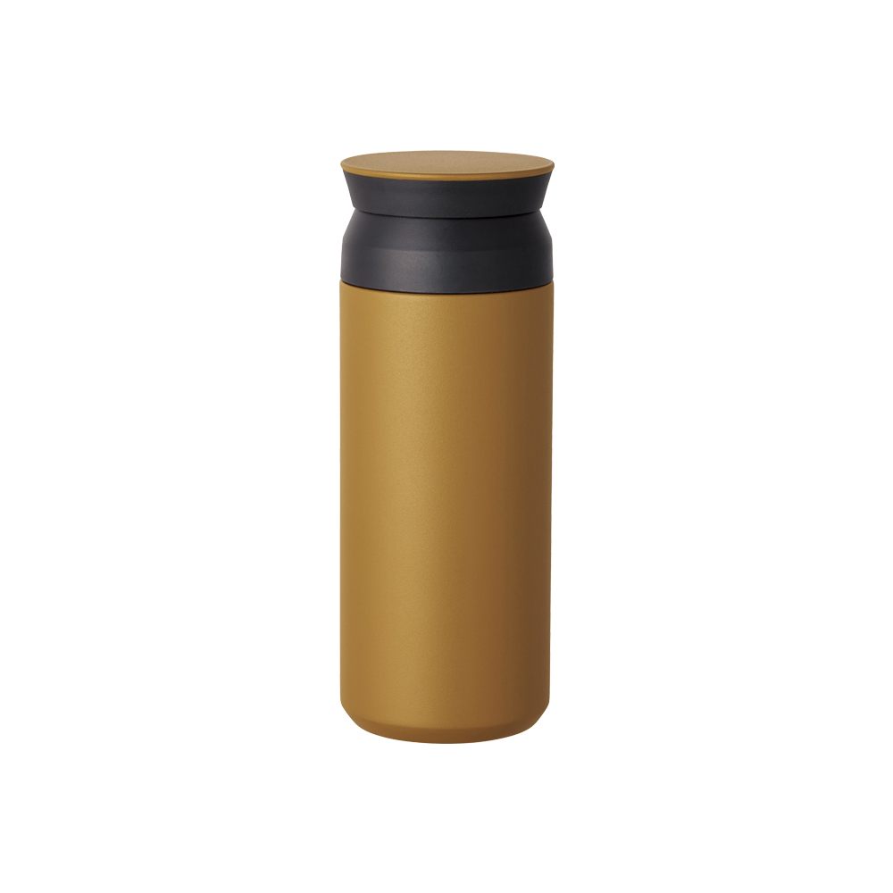 KINTO | TRAVEL TUMBLER 隨行保溫瓶 500ml - 黃色