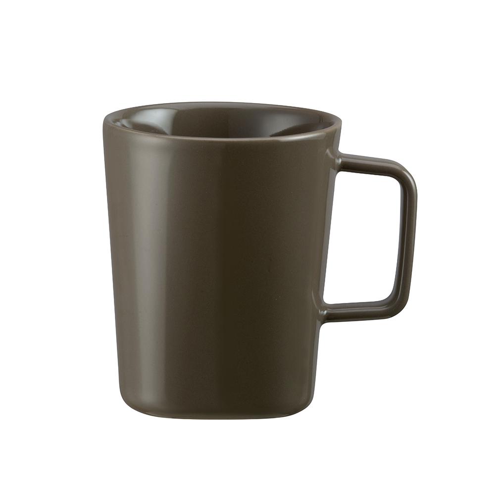 TOAST | DRIPDROP 陶瓷馬克杯 250ml 墨綠色