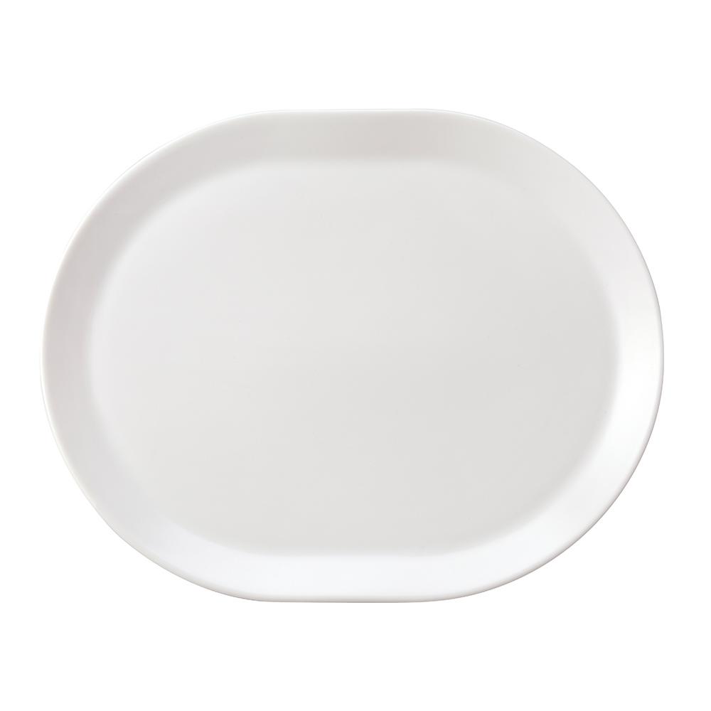 TOAST | DRIPDROP 陶瓷托盤 大/白色