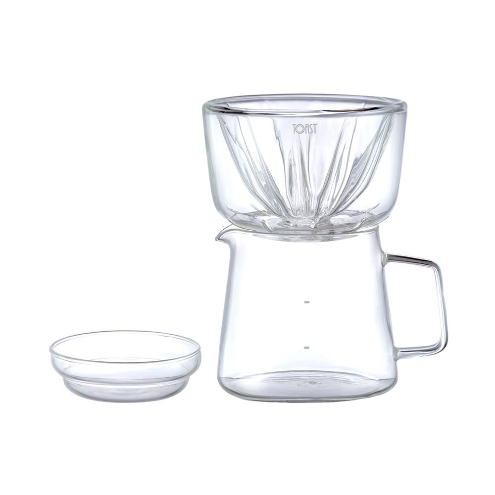 TOAST | DRIPDROP 玻璃沖泡壺組 300ml