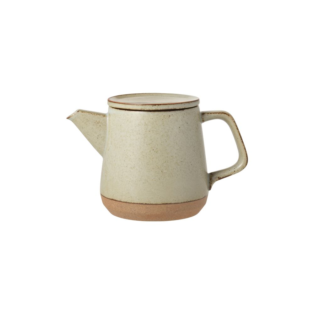 KINTO|CERAMIC LAB茶壺500ml - 米