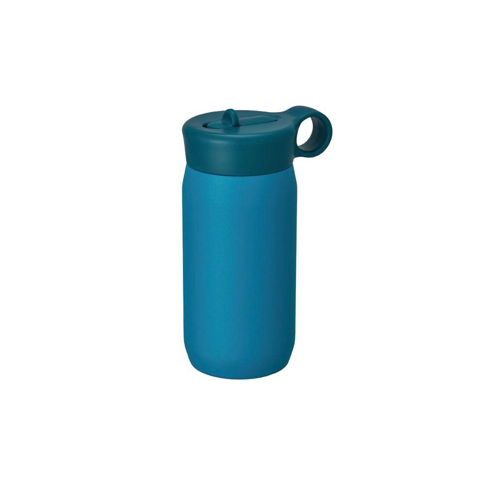 KINTO|PLAY TUMBLER兒童保溫瓶300ml- 藍綠