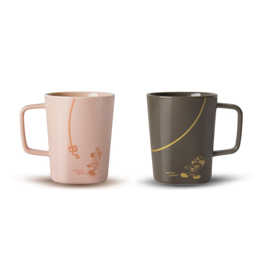 TOAST | DRIPDROP 陶瓷馬克杯 - 米奇對杯 250ml