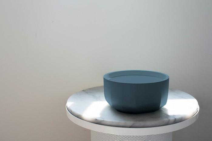 RONDE | 陶瓷深碗便當盒-霧藍