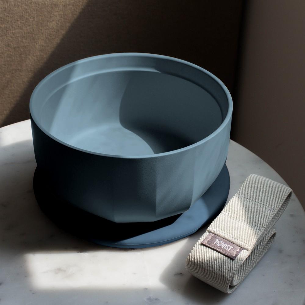 TOAST | RONDE 陶瓷深碗便當盒-霧藍
