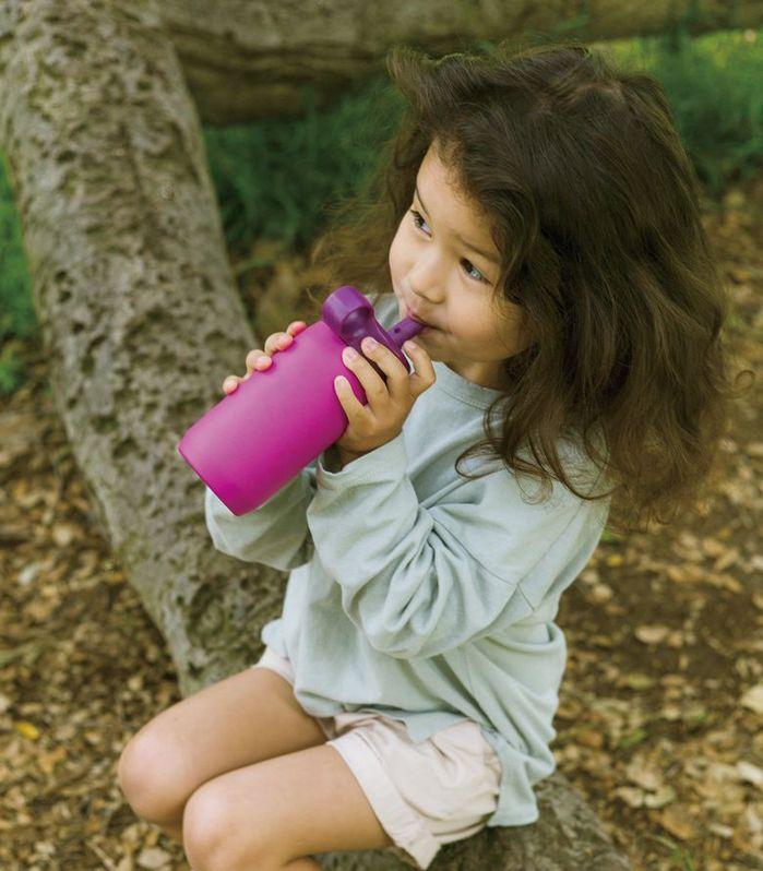 KINTO|PLAY TUMBLER兒童保溫瓶300ml- 紫
