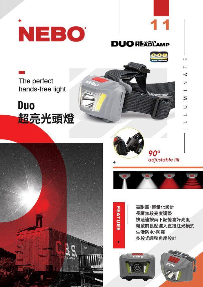 (複製)NEBO | REDLINE V 極度照明系列專業手電筒