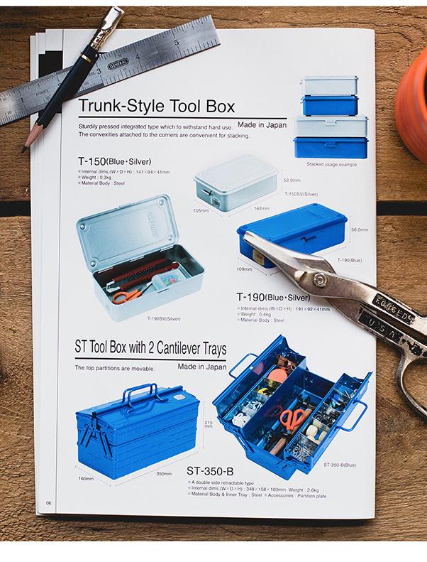 (複製)Trusco|山型單層工具箱-墨綠