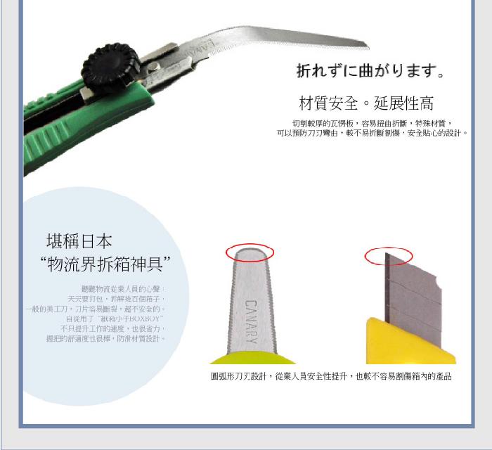 (複製)日本CANARY|極簡拆信刀