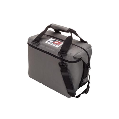 (複製)AO COOLERS 酷冷軟式輕量保冷托特包-豪華24罐型 -經典帆布CANVAS系列 經典黑