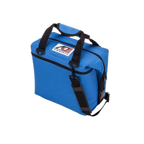 (複製)AO COOLERS|酷冷軟式輕量保冷托特包-24罐型 -經典帆布CANVAS系列 經典黑