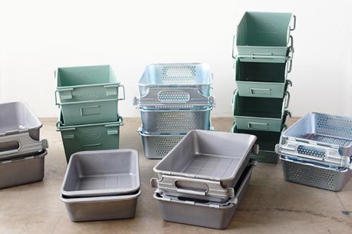 (複製)Trusco│ 塑膠收納盒(小)-墨綠