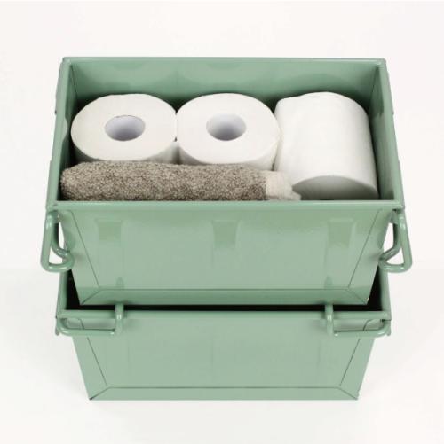 (複製)Trusco│ 工業風鍍鋅收納盒(小)