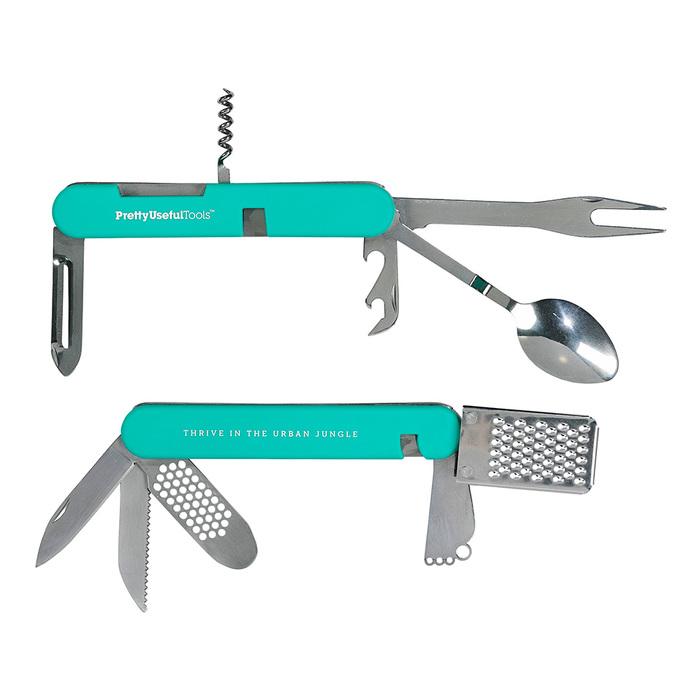 (複製)Pretty Useful Tools|戶外露營刀叉多功能工具組