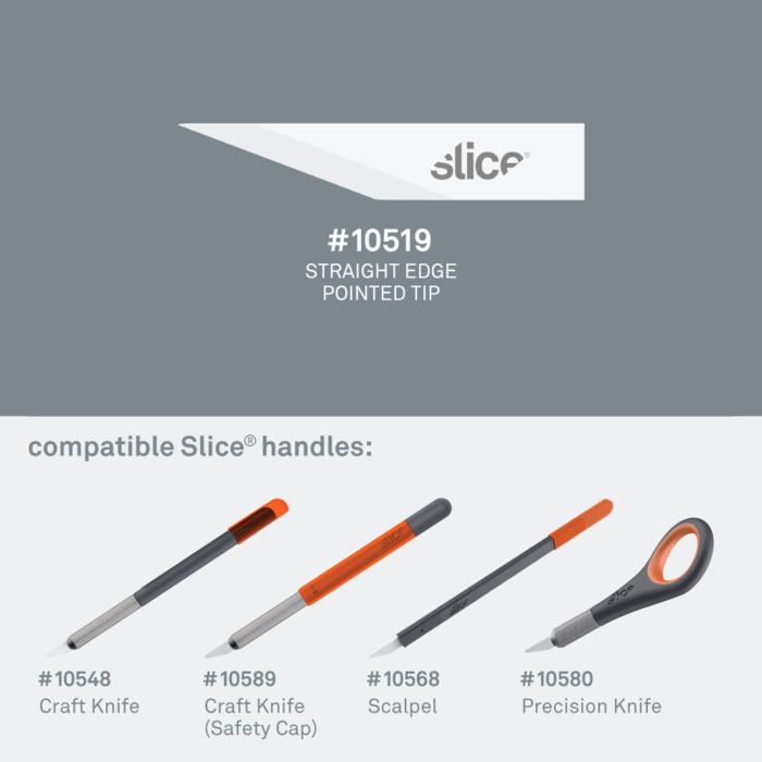 (複製)Slice|迷你陶瓷替刃-尖 4入組