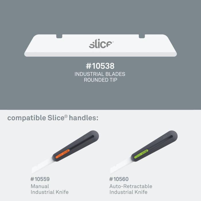(複製)Slice|多用途陶瓷替刃-短刃-尖 3入組