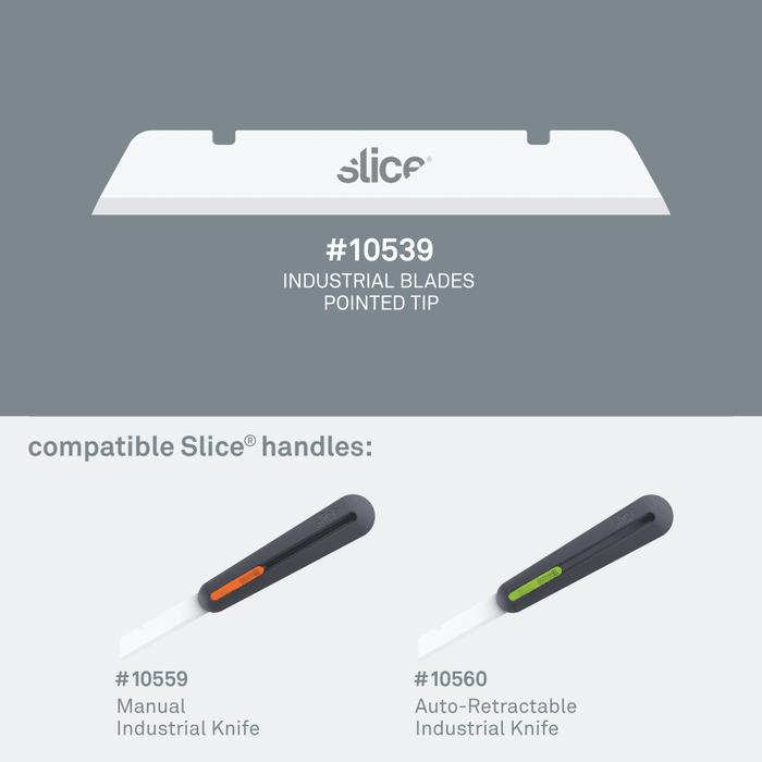 (複製)Slice|多用途陶瓷替刃-長刃-圓 4入組
