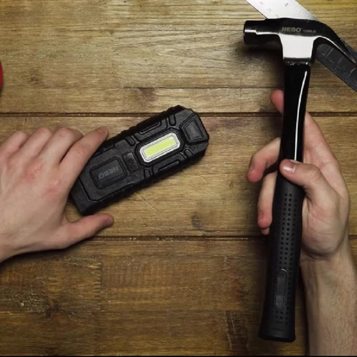 (複製)NEBO|MYCRO 迷你超強光5段模式鑰匙圈手電筒-銀