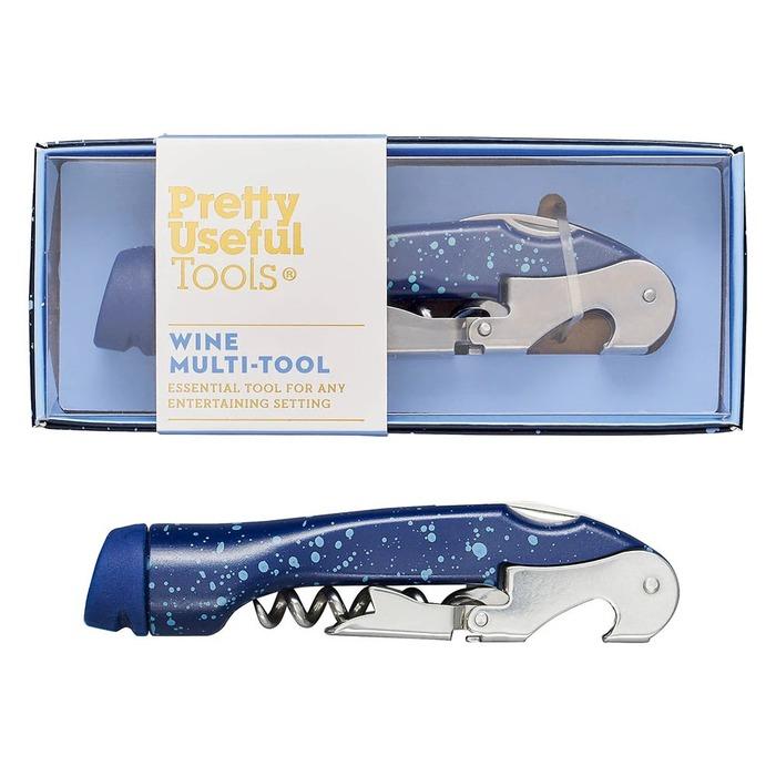 (複製)Pretty Useful Tools|(限量)戶外露營刀叉多功能工具組-噴砂午夜藍