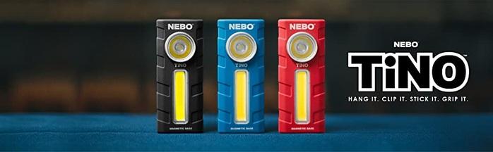 NEBO|TiNO 超薄型兩用LED燈(2入組)