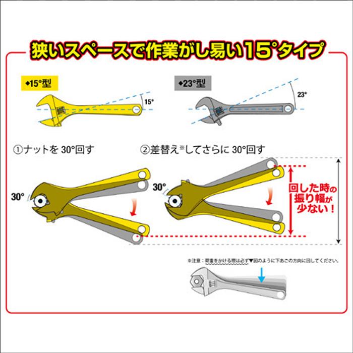 FUJIYA日本富士箭|黑金系列-大開口輕量活動板手43mm