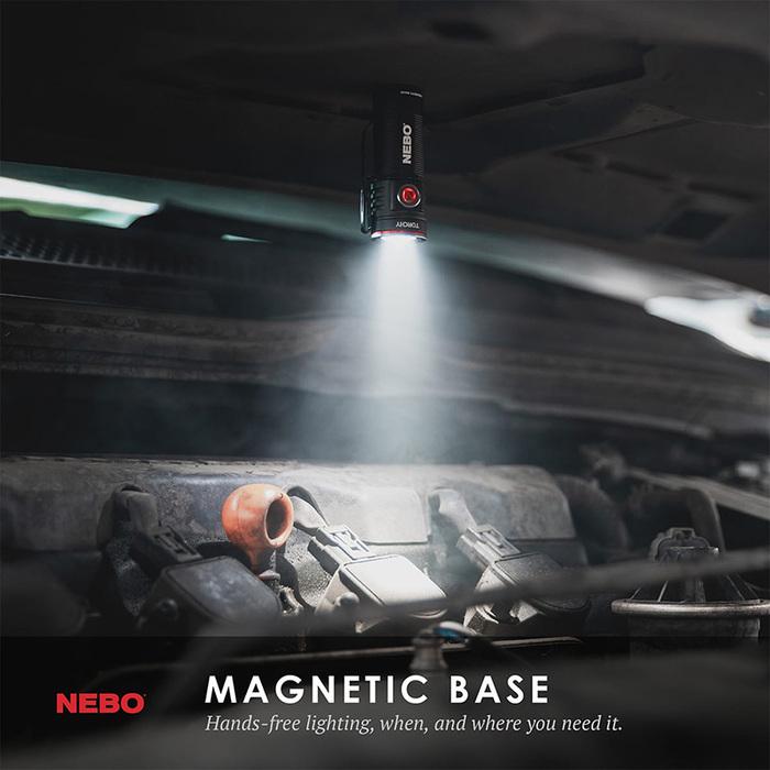 (複製)NEBO|Inspector高亮度防水筆型手電筒-彈性供電(吊卡版)
