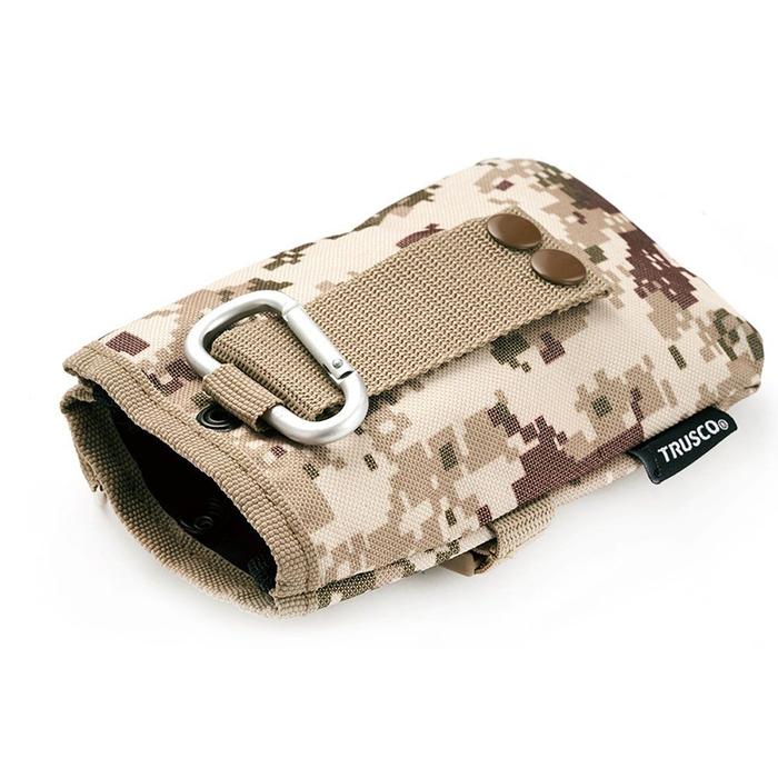 (複製)Trusco 數位迷彩-軍綠色系捲筒式工具收納包