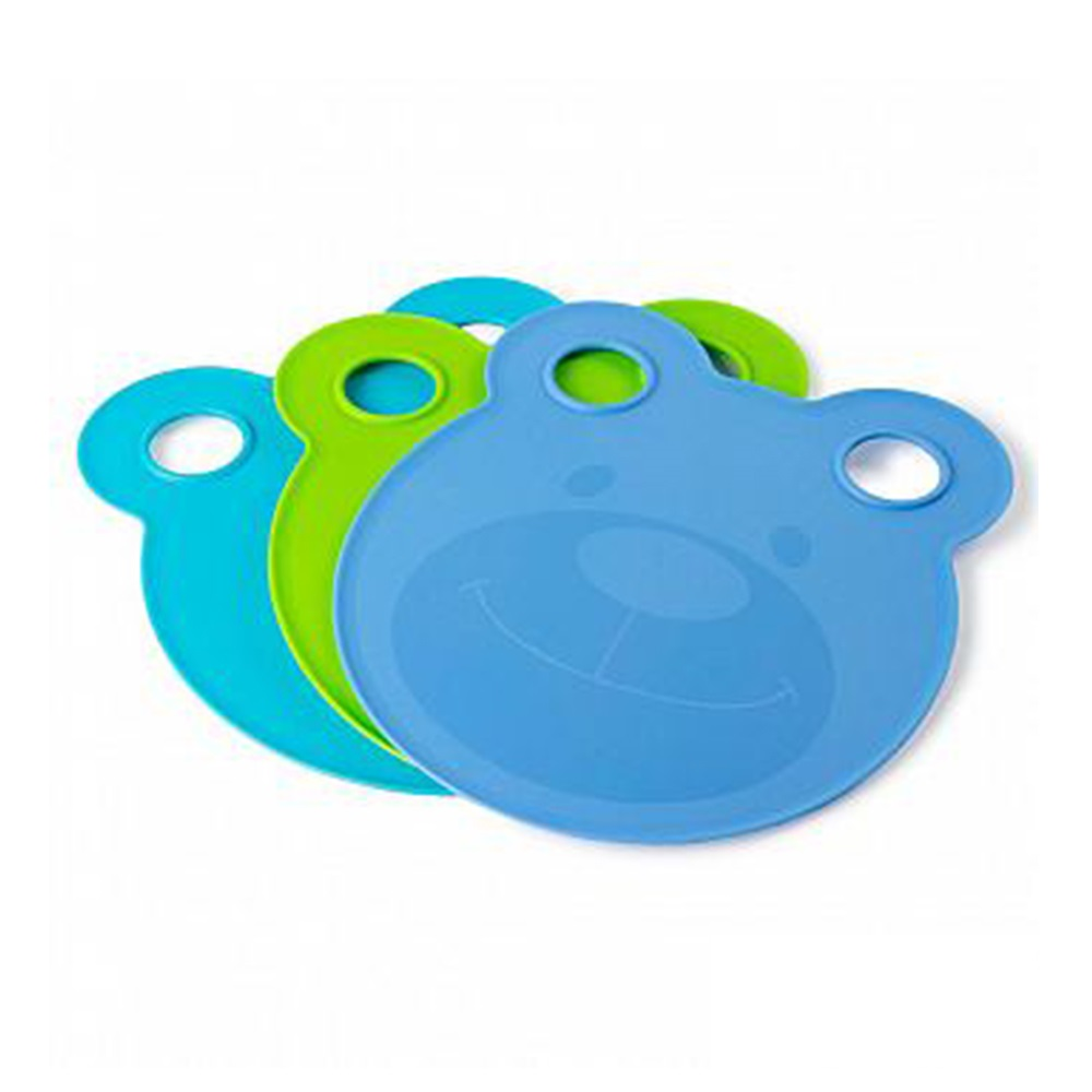 Architec|兒童小熊造型餐盤&砧板(Boys)