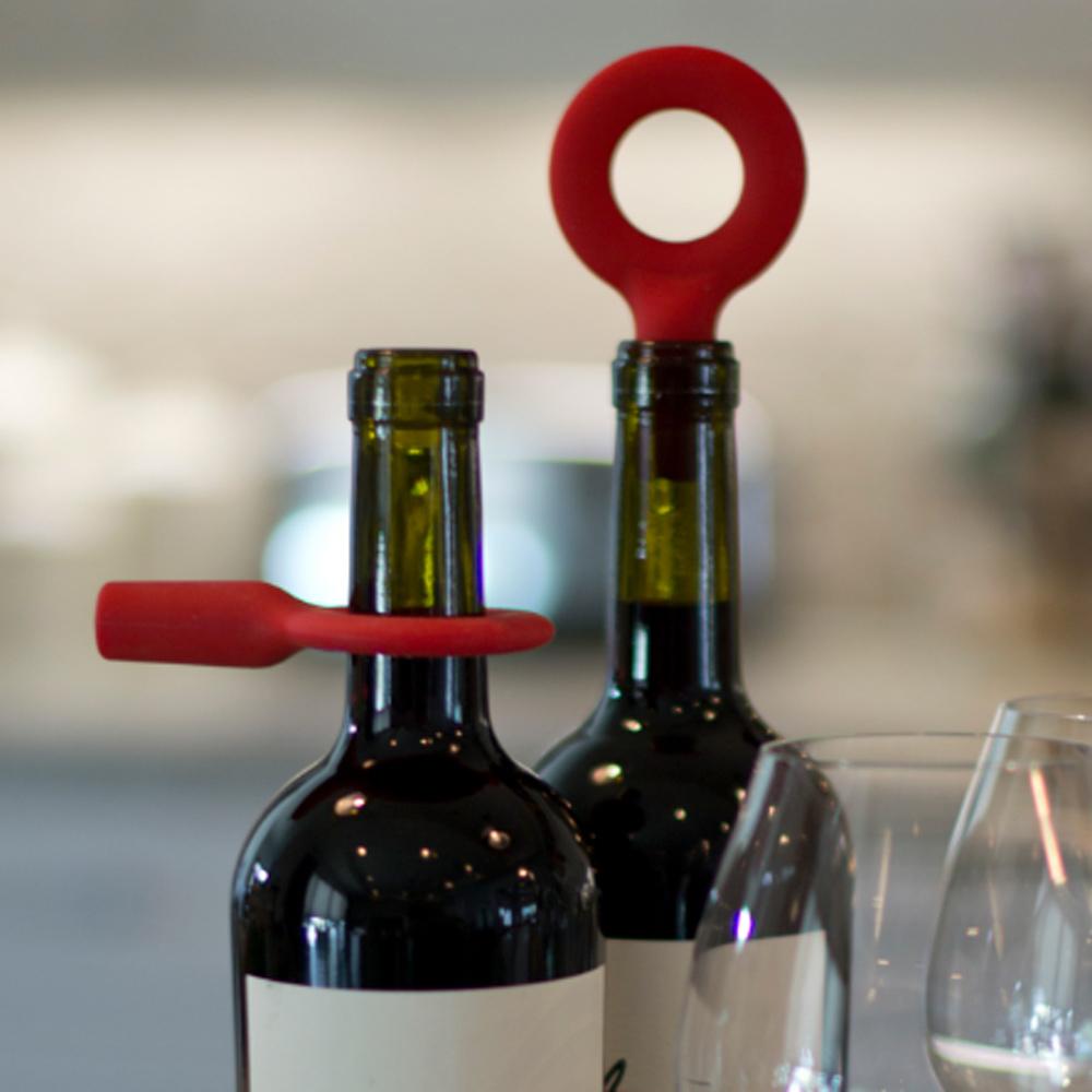 Architec|Hoop戒指酒瓶塞-紅
