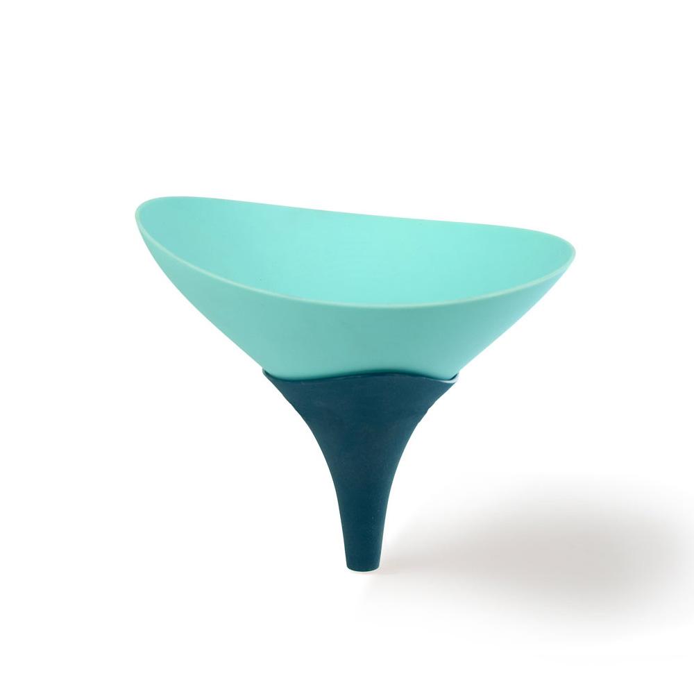 Architec 食材乾濕雙併漏斗-天藍